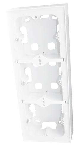 LOGUS 90 Series Surface Triple Mounting Box