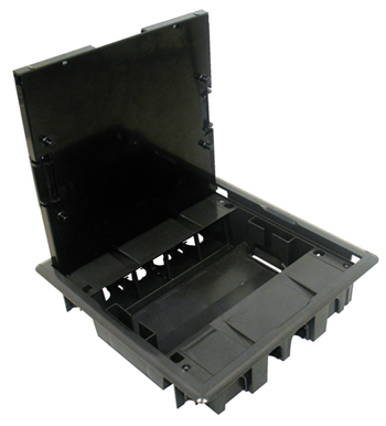 Floor Box with Stainless cover - 16 Modules