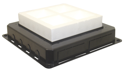 Flush Mounting Box for Floor Box - 16 Modules