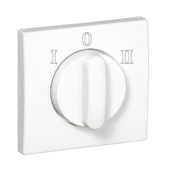 Cover Plate for Rotary Two-way Switch (I, 0, II)