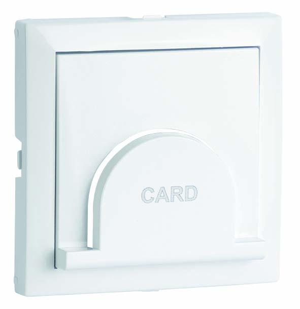 Enjoliveur pour Interrupteur Card-System Temporisé