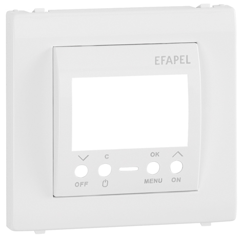 Cover Plate for One Circuit Digital Time Switch