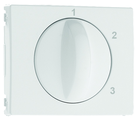 Cover Plate for 3 positions Rotary Switch