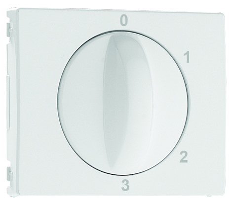 Cover Plate for 4 positions Rotary Switch