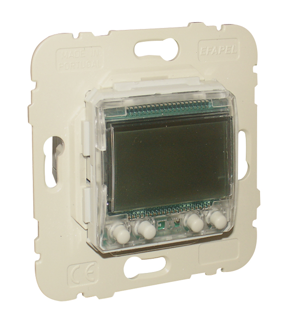 Interrupteur Horaire Digital de 2 Circuits