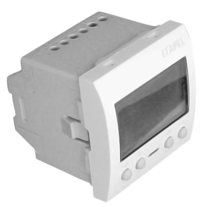 Interrupteur Horaire Digital de 2 Circuits - 2 Modules