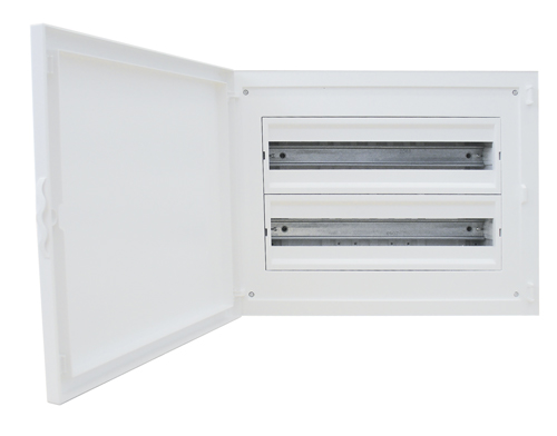 Complete Flush Mounting Distribution Panelboard - 40 Modules (2x20)