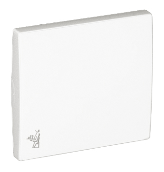 Rocker for Switches with Maid Symbol