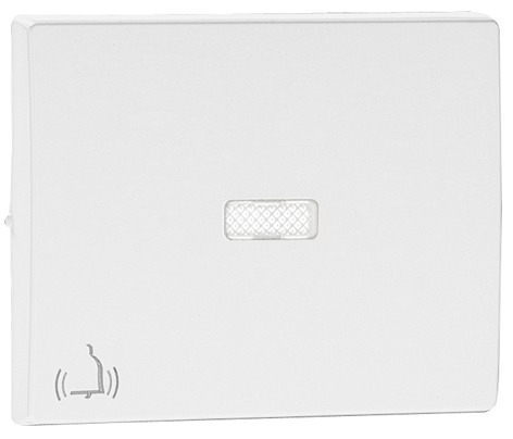 Rocker for Lighted Switches / Push-button with Bell Symbol