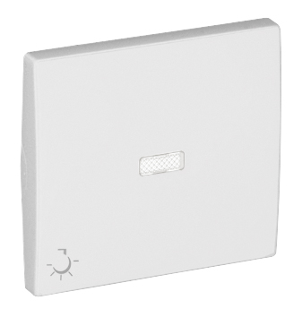 Rocker for Lighted Switches / Push-button with Lamp Symbol