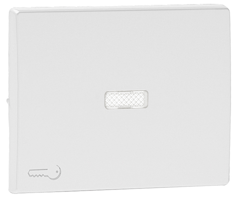 Rocker for Lighted Switches / Push-button with Lock Symbol